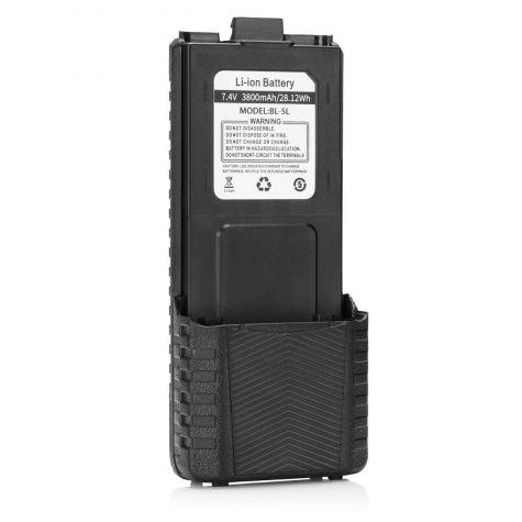 Batteria maggiorata Baofeng 3800mAh compatibile con TechSide TI-F8+