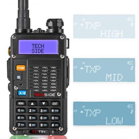 Radio TECHSIDE TS-T9+ | Tri-Power | COMPATIBLE MIDLAND 8W Premium Quality