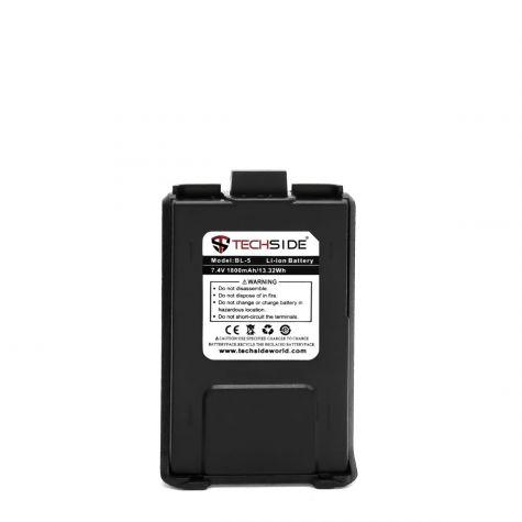 Batteria ricambio 1800mAh compatibile con TechSide TI-F8+